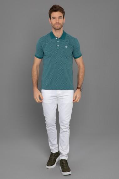 Tricou Polo Paul Parker PA123704 Verde