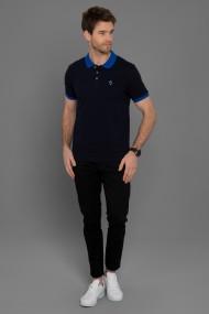 Tricou Polo Paul Parker PA128970 Bleumarin