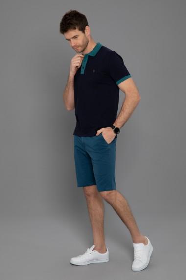 Tricou Polo Paul Parker PA284749 Bleumarin
