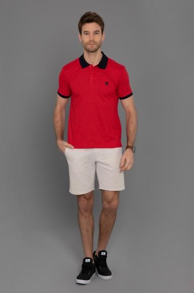 Tricou Polo Paul Parker PA302261 Rosu
