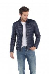 Jacheta din piele Paul Parker MAS-Pa3028496-NAVY Bleumarin