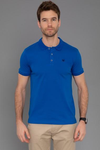 Tricou Polo Paul Parker PA365204 Albastru