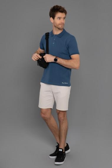 Tricou Polo Paul Parker PA454799 Bleumarin
