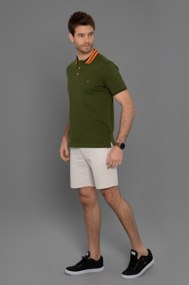 Tricou Polo Paul Parker PA489917 Kaki