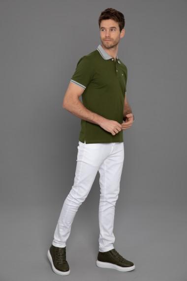 Tricou Polo Paul Parker PA520113 Kaki