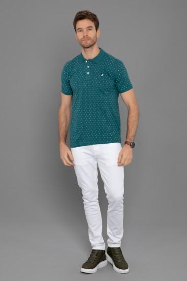 Tricou Polo Paul Parker PA520683 Verde