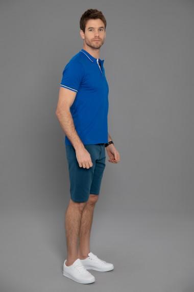 Tricou Polo Paul Parker PA543032 Albastru