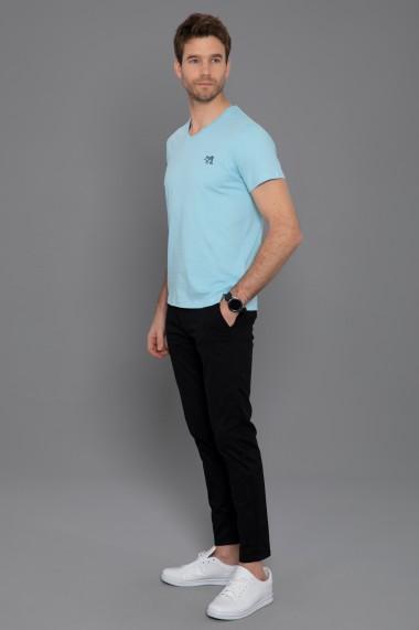 Tricou Paul Parker PA555422 Albastru