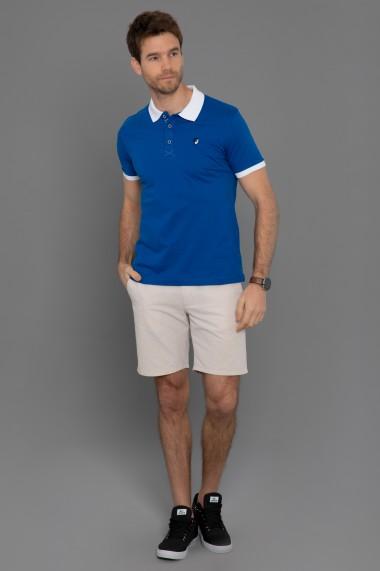 Tricou Polo Paul Parker PA561422 Albastru