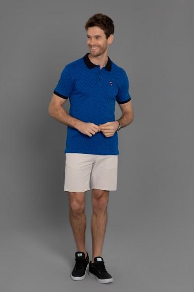 Tricou Polo Paul Parker PA562940 Albastru