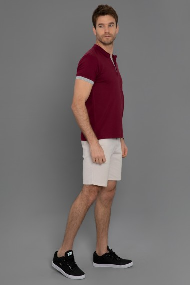 Tricou Polo Paul Parker PA568180 Bordo
