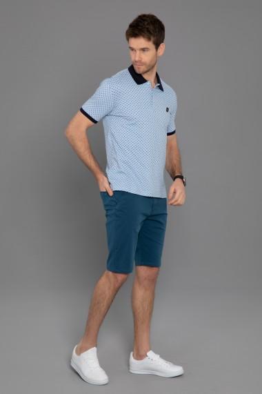 Tricou Polo Paul Parker PA606242 Albastru