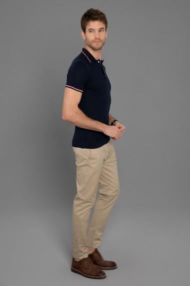 Tricou Polo din tricot Paul Parker PA620730 Bleumarin