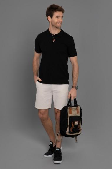 Tricou Polo Paul Parker PA648200 Negru