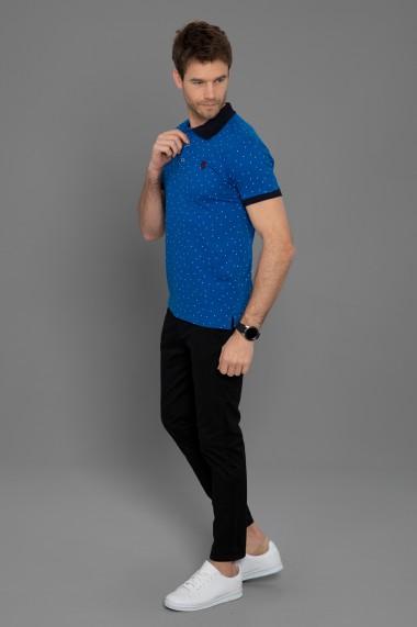 Tricou Polo Paul Parker PA698382 Albastru