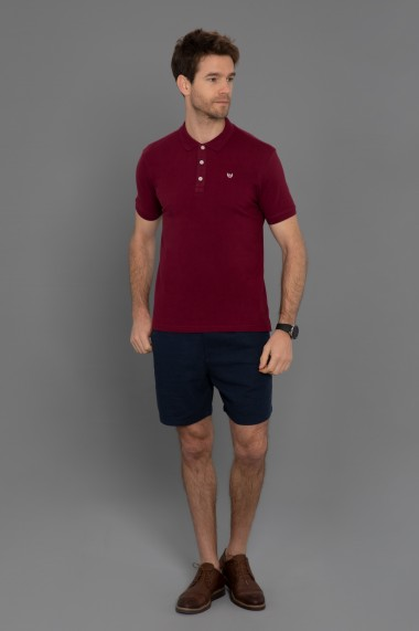 Tricou Polo Paul Parker PA698789 Bordo