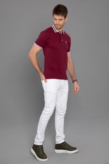 Tricou Polo Paul Parker PA726085 Bordo