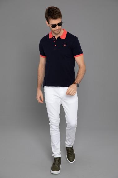 Tricou Polo Paul Parker PA795029 Bleumarin