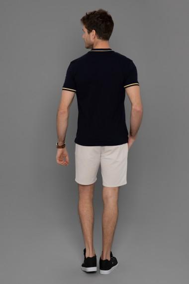 Tricou Polo Paul Parker PA852700 Bleumarin