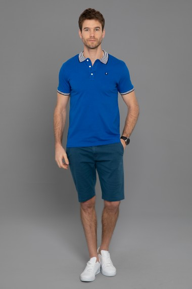 Tricou Polo Paul Parker PA853512 Albastru