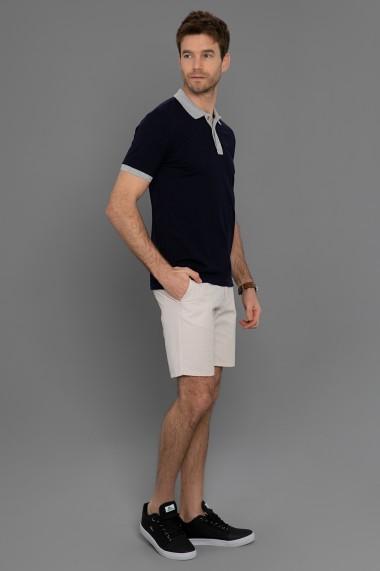 Tricou Polo Paul Parker PA873172 Bleumarin