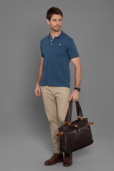 Tricou Polo Paul Parker PA903513 Bleumarin