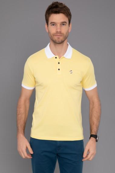 Tricou Polo Paul Parker PA954329 Galben