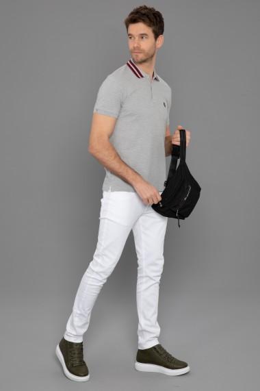 Tricou Polo Paul Parker PA966826 Gri