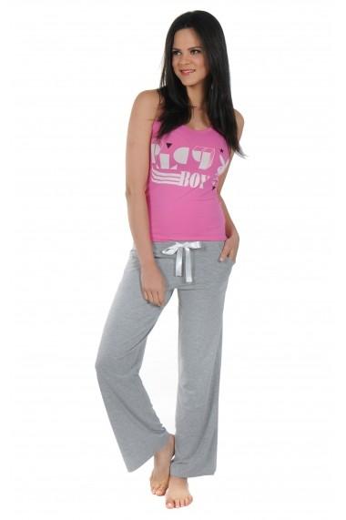 Pijama lunga Playboy PBN118PINK Roz