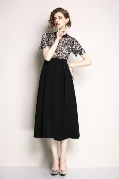 Rochie de zi Kaimilan QE967 negru