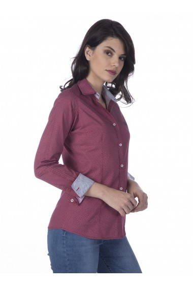Camasa Sir Raymond Tailor MAS-SI211567 Bordo
