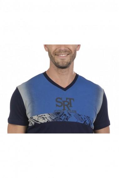Tricou Sir Raymond Tailor MAS-SI216857 Bleumarin