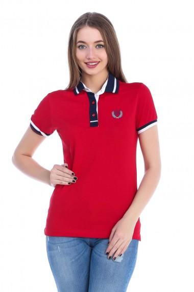 Tricou Polo Sir Raymond Tailor SI2817016 Rosu