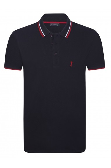 Tricou Polo Sir Raymond Tailor SI3673302 Negru
