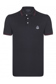 Tricou Polo Sir Raymond Tailor MAS-SI3758390 Negru
