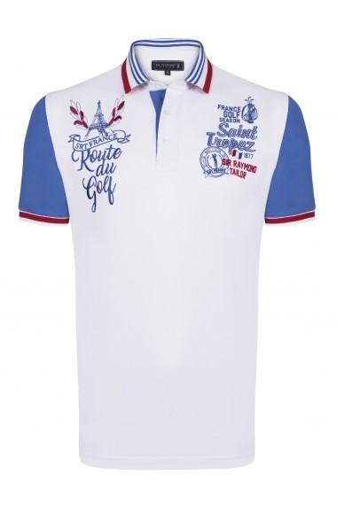 Tricou Polo Sir Raymond Tailor SI4290550 alb
