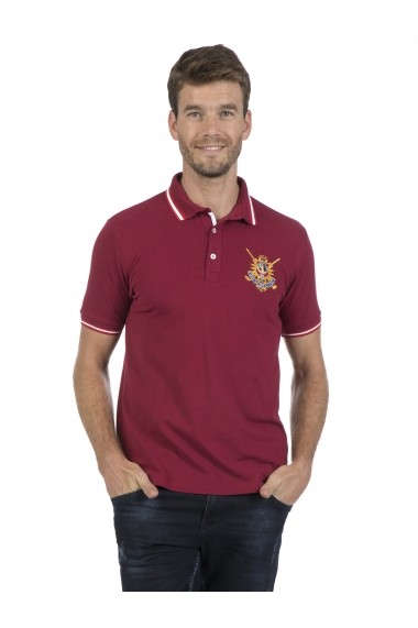Tricou Polo Sir Raymond Tailor MAS-SI5224992 Bordo