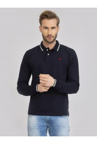 Bluza Polo Sir Raymond Tailor SI5829695 Bleumarin