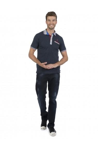 Tricou Polo Sir Raymond Tailor MAS-SI6588310 Bleumarin
