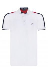 Tricou Polo Sir Raymond Tailor SI7045573 Alb