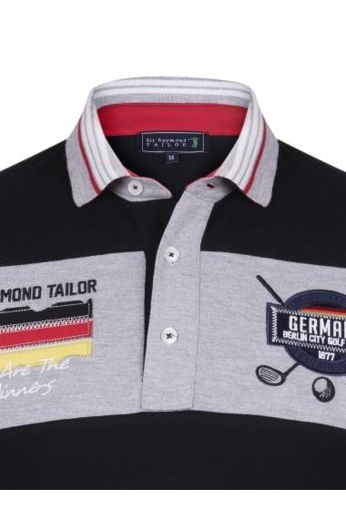 Tricou Polo Sir Raymond Tailor SI8608720 negru - els