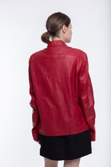 Jacheta din piele naturala Mangotti