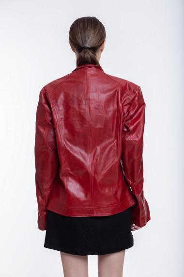 Jacheta din piele naturala Lynn by Carla Ferreri