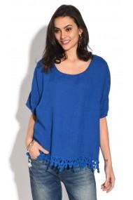 Bluza de vara Le Jardin du Lin E18-31 Albastru