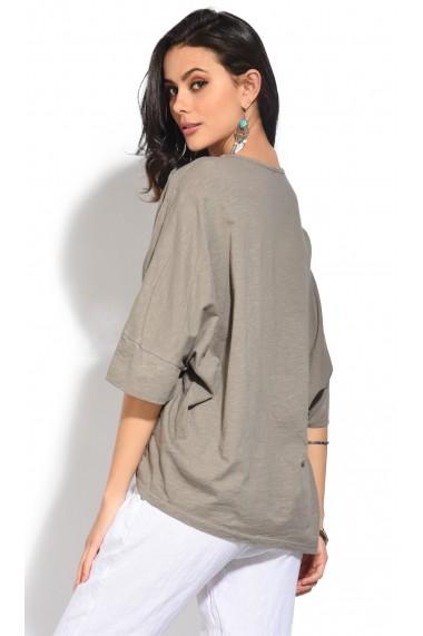Bluza de vara Le Jardin du Lin E18-42 Bej