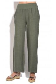 Pantaloni Le Jardin du Lin E18-45 Kaki