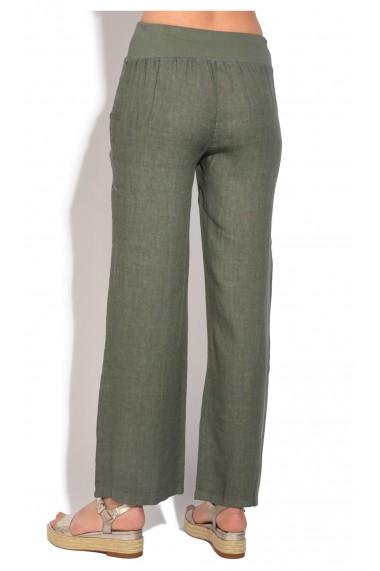 Pantaloni de vara Le Jardin du Lin E18-45 Kaki
