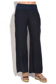 Pantaloni de vara Le Jardin du Lin E18-45 Bleumarin