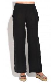 Pantaloni de vara Le Jardin du Lin E18-45 Negru