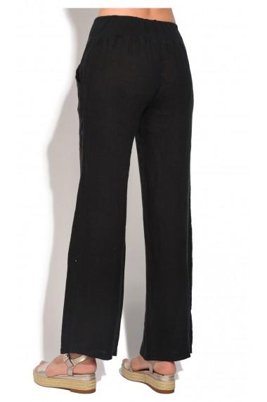 Pantaloni Le Jardin du Lin E18-45 Negru